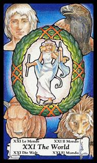 Betekenis Tarotkaart De Wereld
