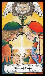 betekenis tarotkaart Bekers Twee
