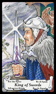Tarotkaart Betekenis Zwaarden Koning