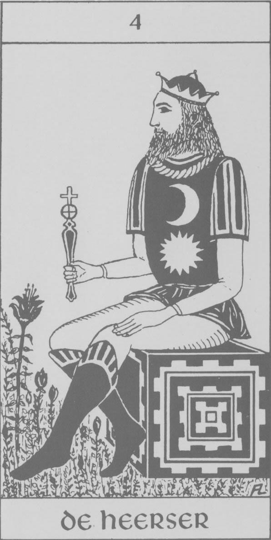 Hermetische tarot - de heerser